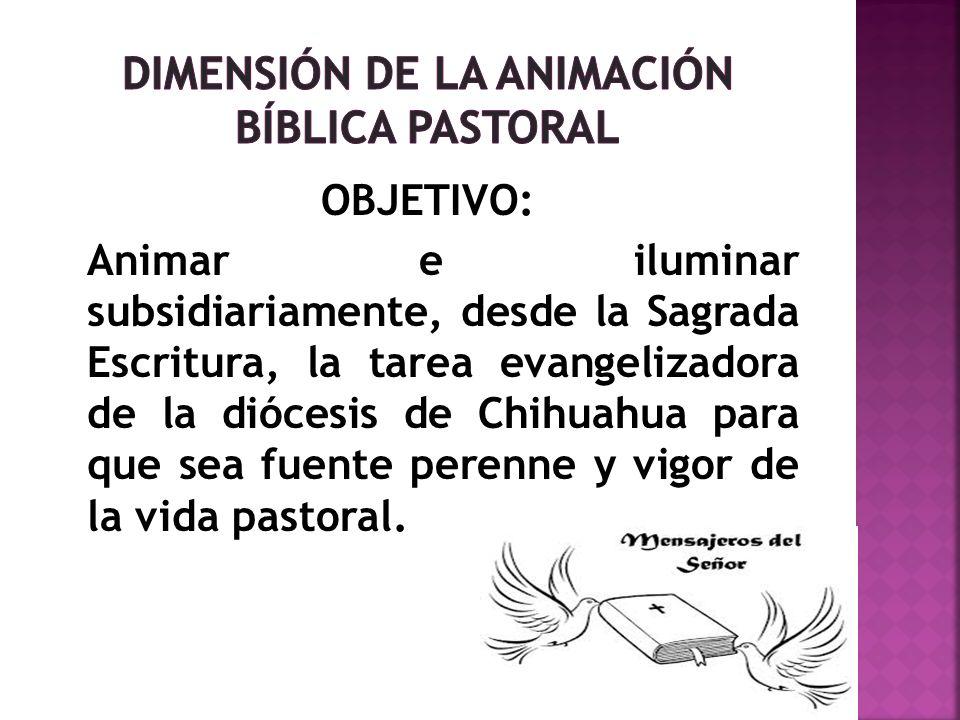 Dimensión de la Animación Bíblica Pastoral