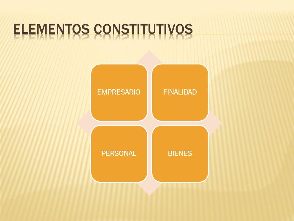Elementos constitutivos
