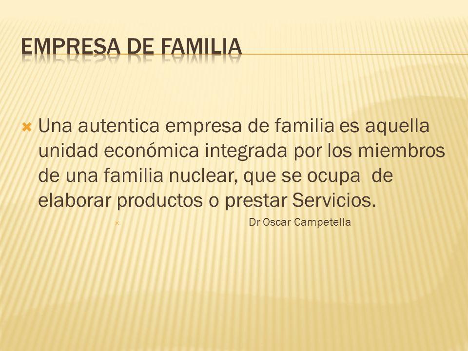 EMPRESA DE FAMILIA