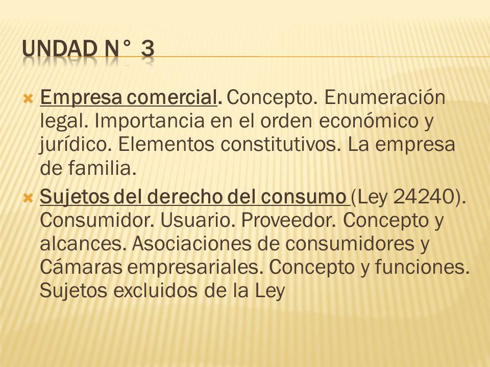 UNDAD N° 3
