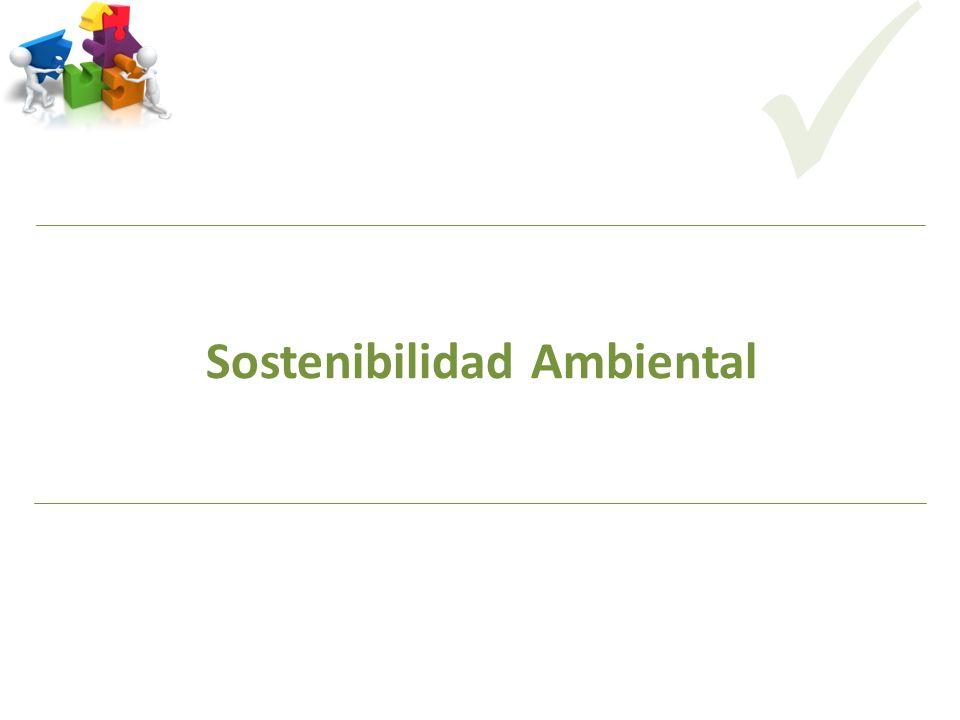 Sostenibilidad Ambiental