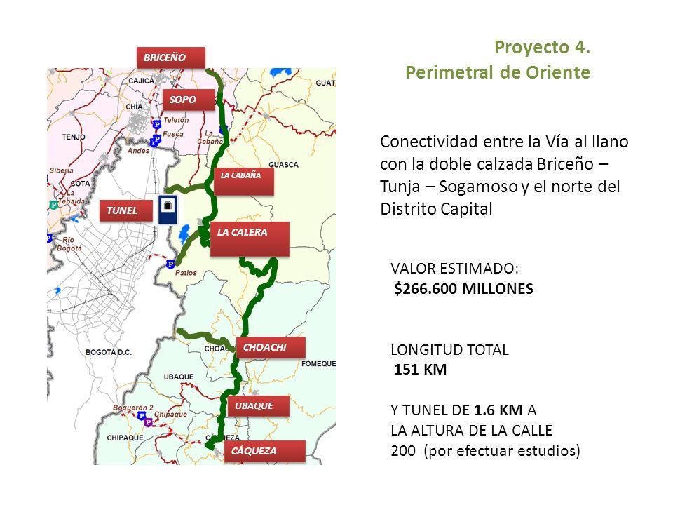 Proyecto 4. Perimetral de Oriente