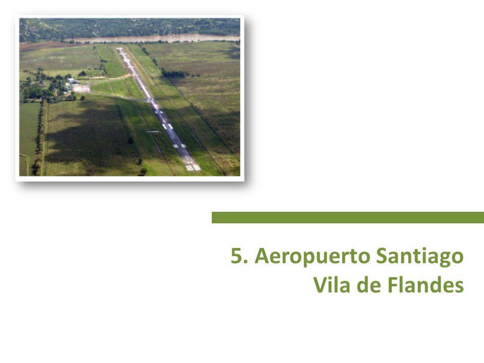 5. Aeropuerto Santiago Vila de Flandes