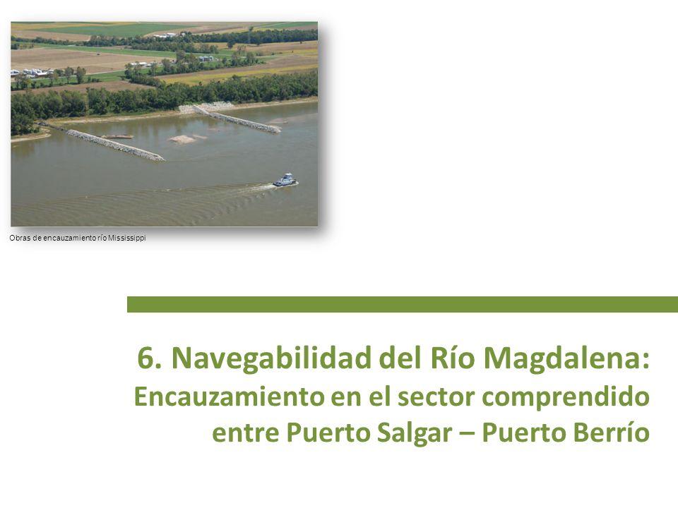 6. Navegabilidad del Río Magdalena:
