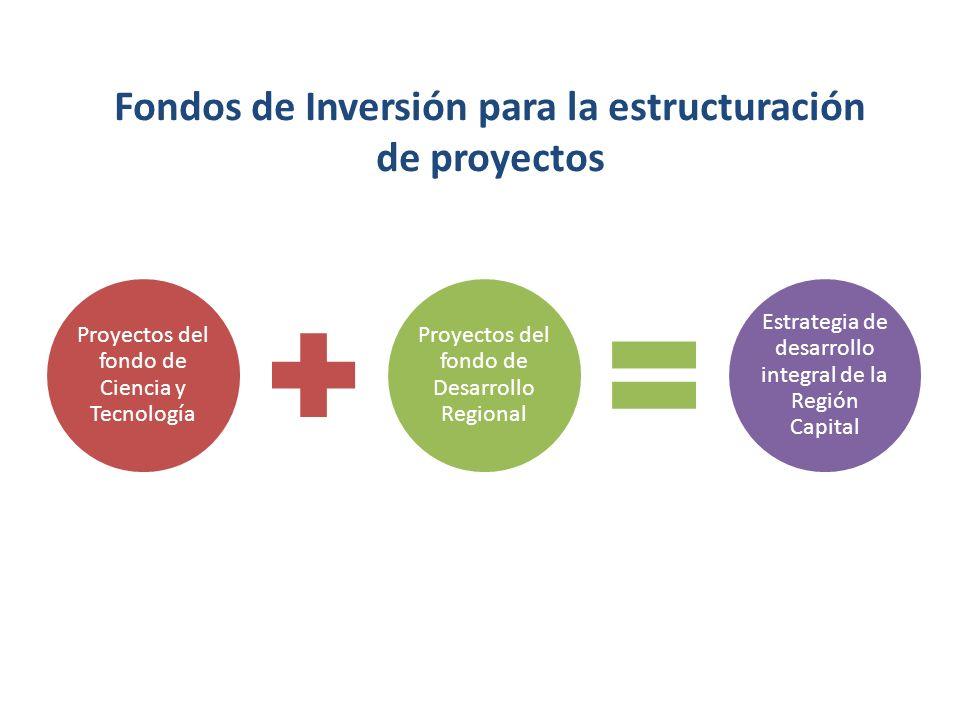 Fondos de Inversión para la estructuración de proyectos