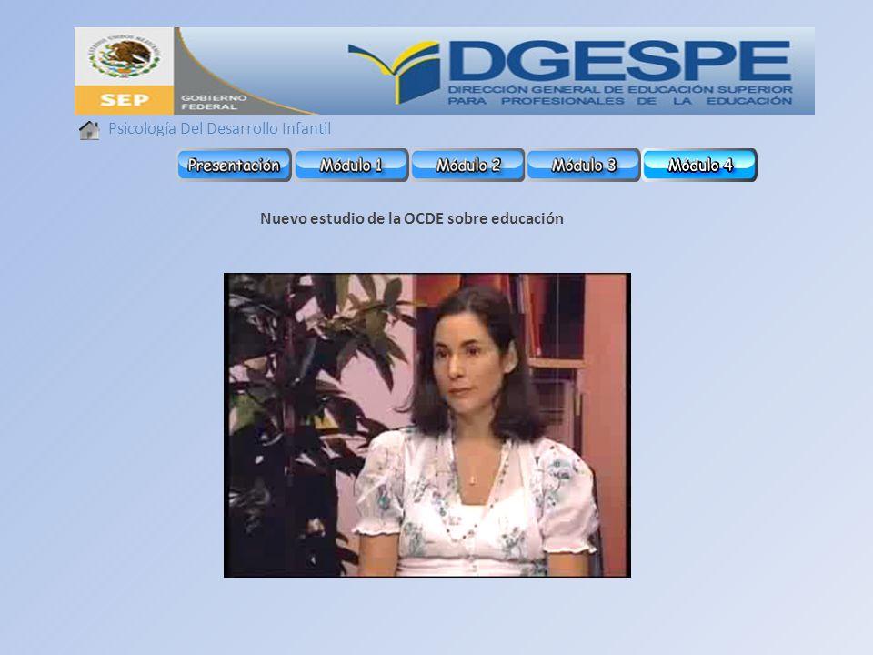Nuevo estudio de la OCDE sobre educación