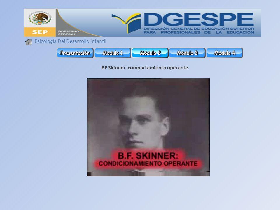 BF Skinner, compartamiento operante