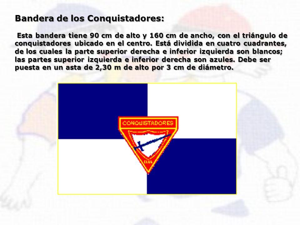Bandera de los Conquistadores: