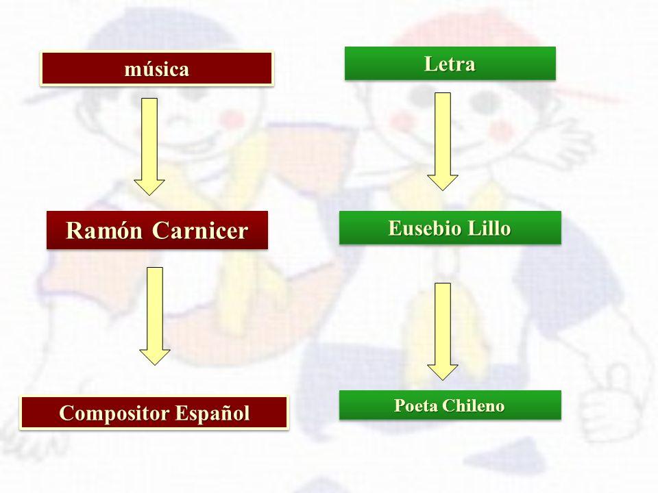 Ramón Carnicer Letra música Eusebio Lillo Compositor Español