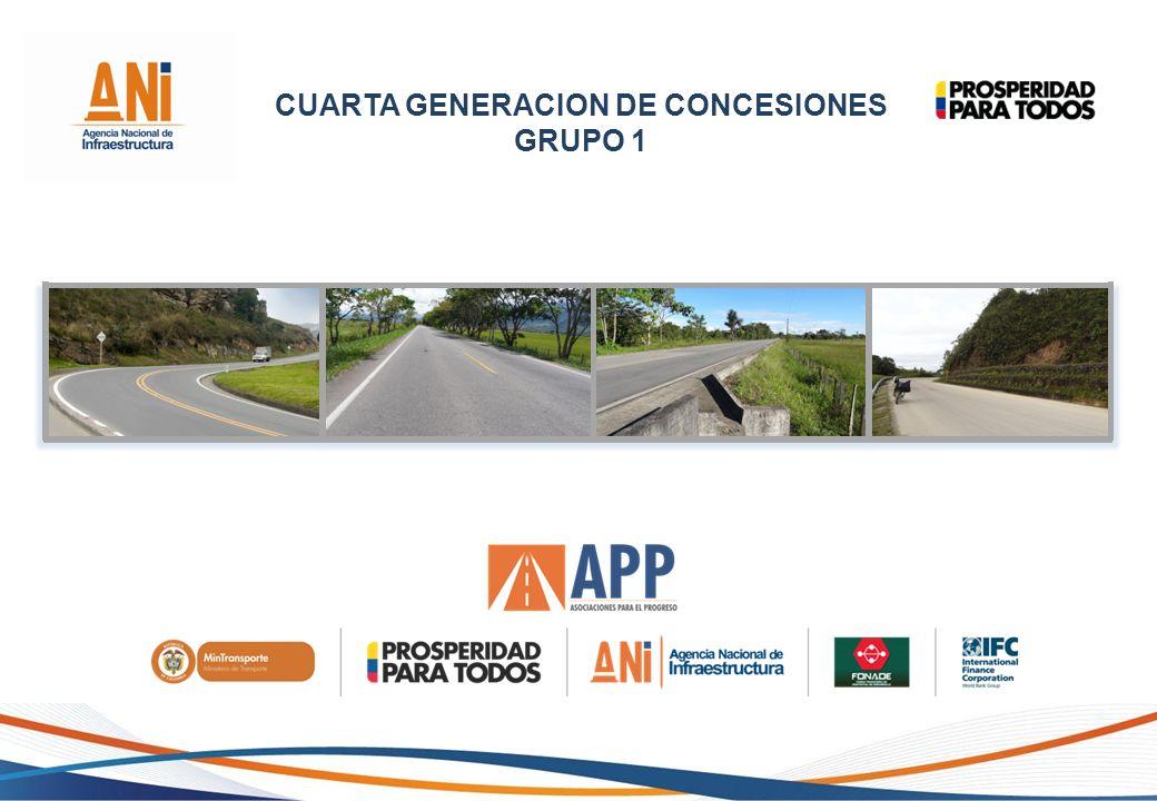 CUARTA GENERACION DE CONCESIONES GRUPO 1