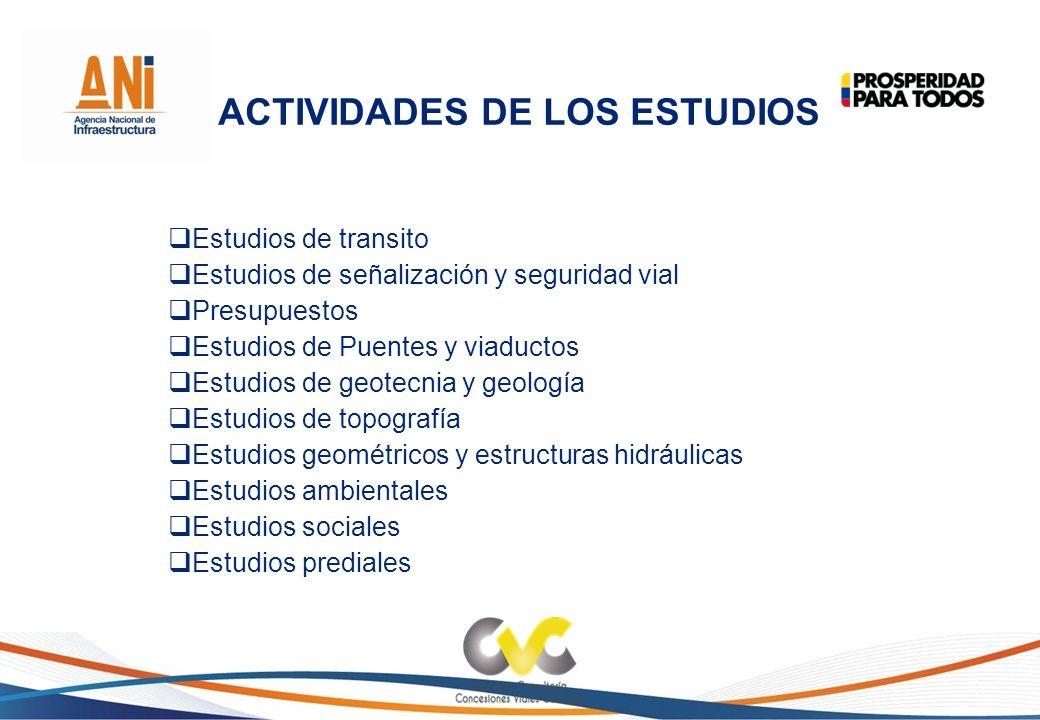 ACTIVIDADES DE LOS ESTUDIOS