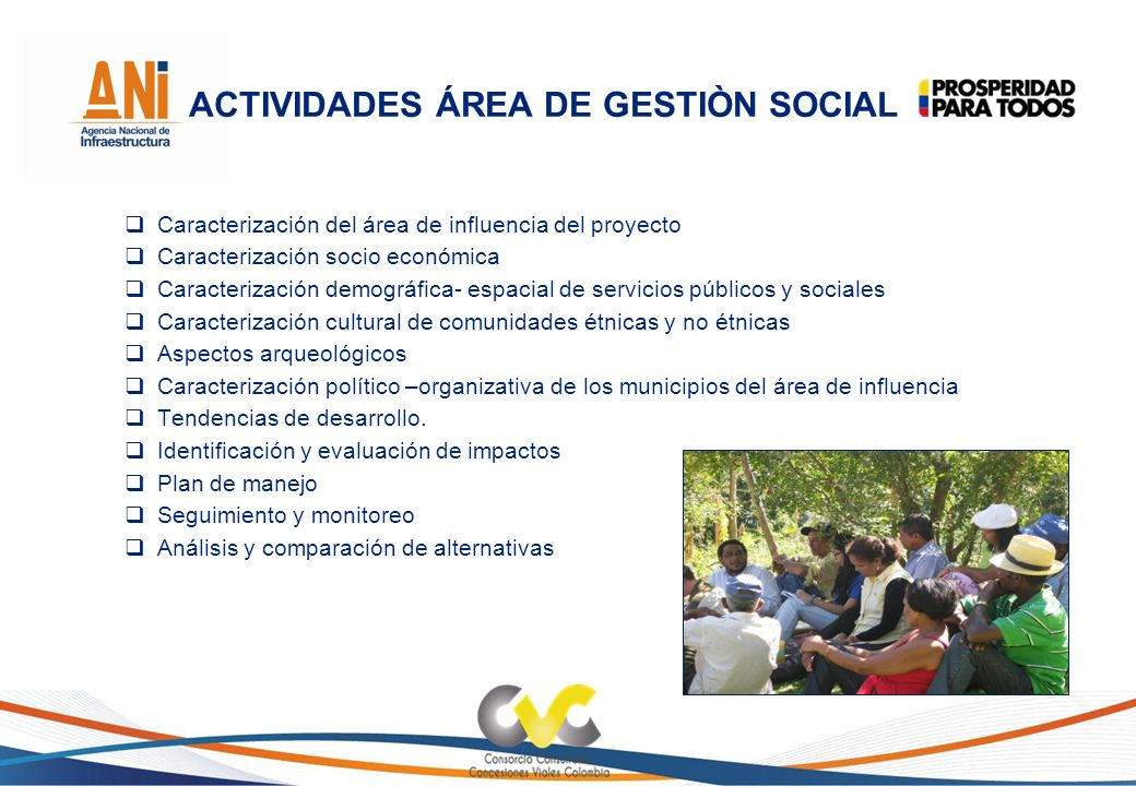 ACTIVIDADES ÁREA DE GESTIÒN SOCIAL