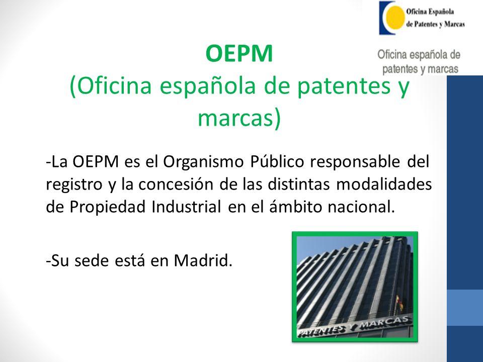 (Oficina española de patentes y marcas)