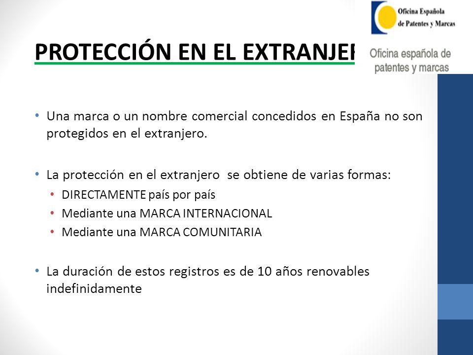 PROTECCIÓN EN EL EXTRANJERO