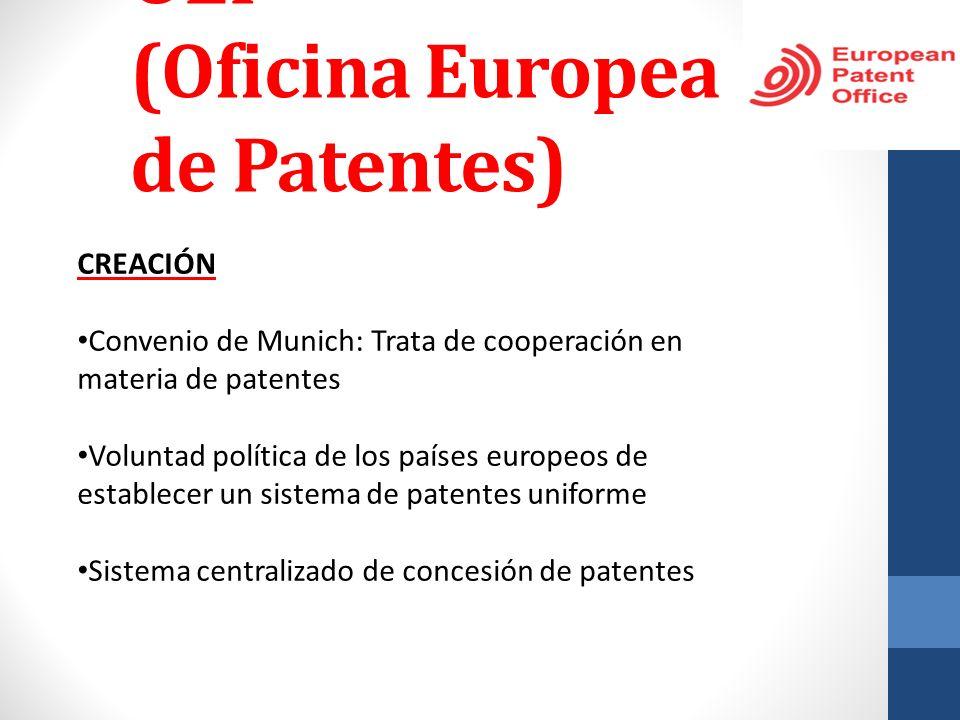 OEP (Oficina Europea de Patentes)