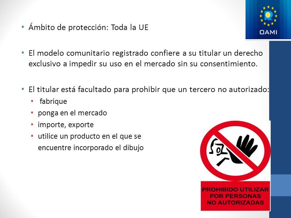 Ámbito de protección: Toda la UE