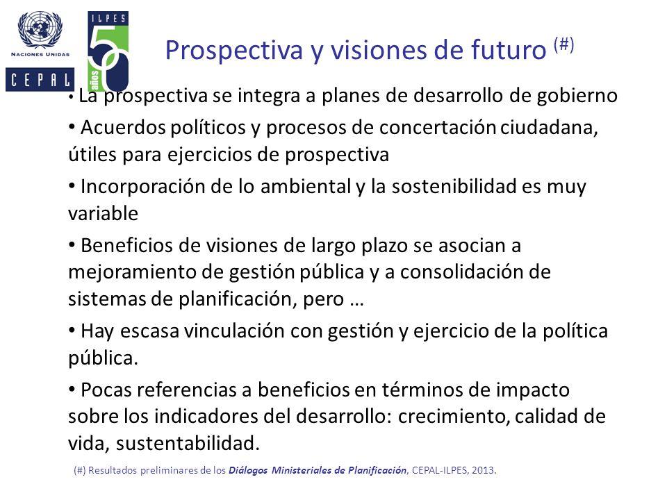 Prospectiva y visiones de futuro (#)