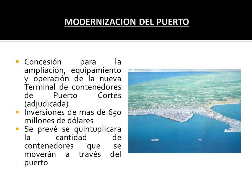 MODERNIZACION DEL PUERTO
