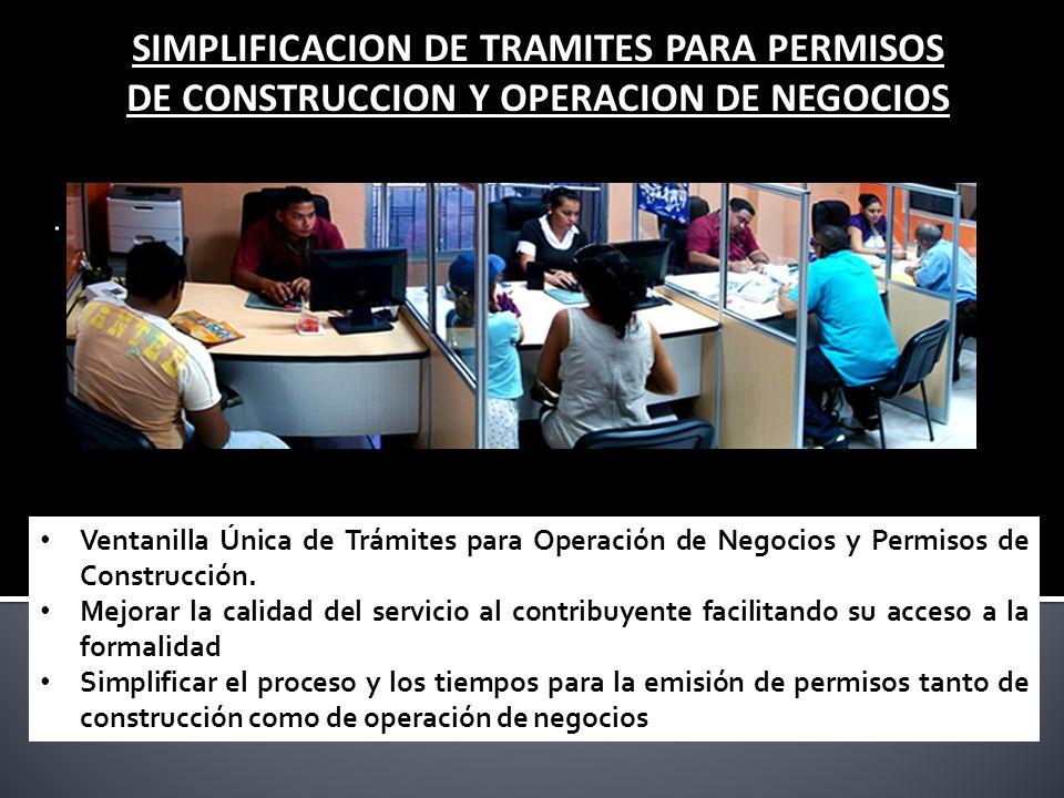 SIMPLIFICACION DE TRAMITES PARA PERMISOS