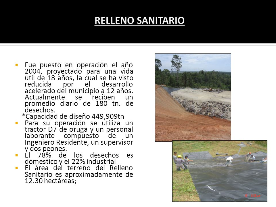 RELLENO SANITARIO