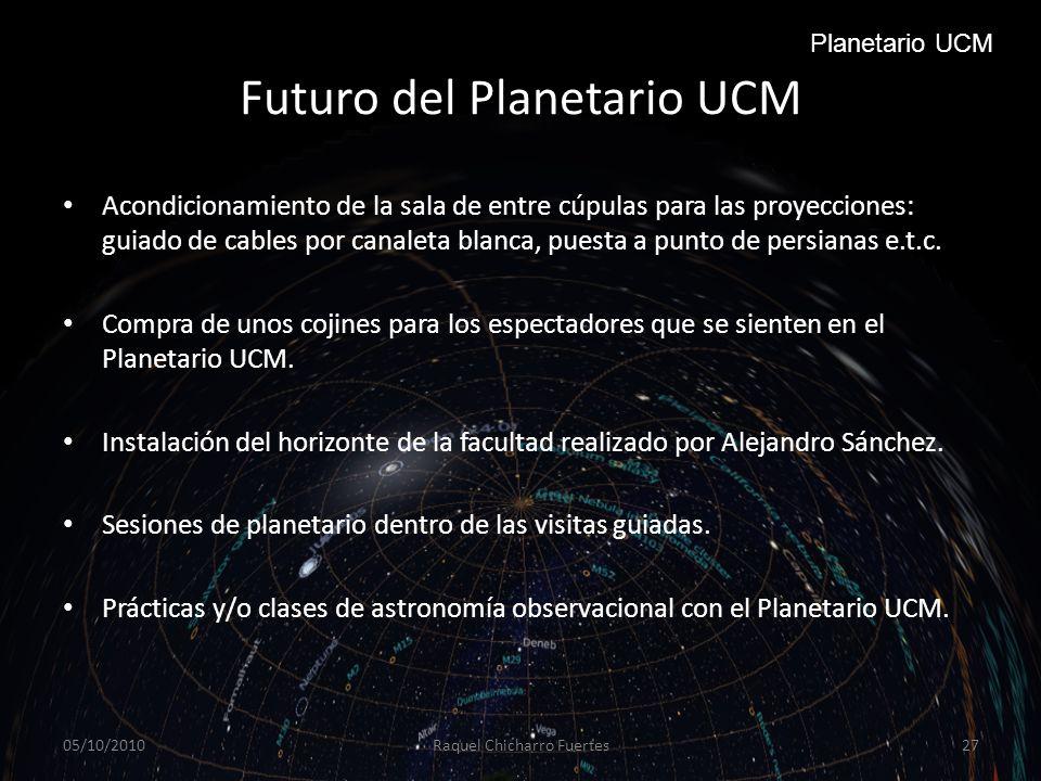 Futuro del Planetario UCM