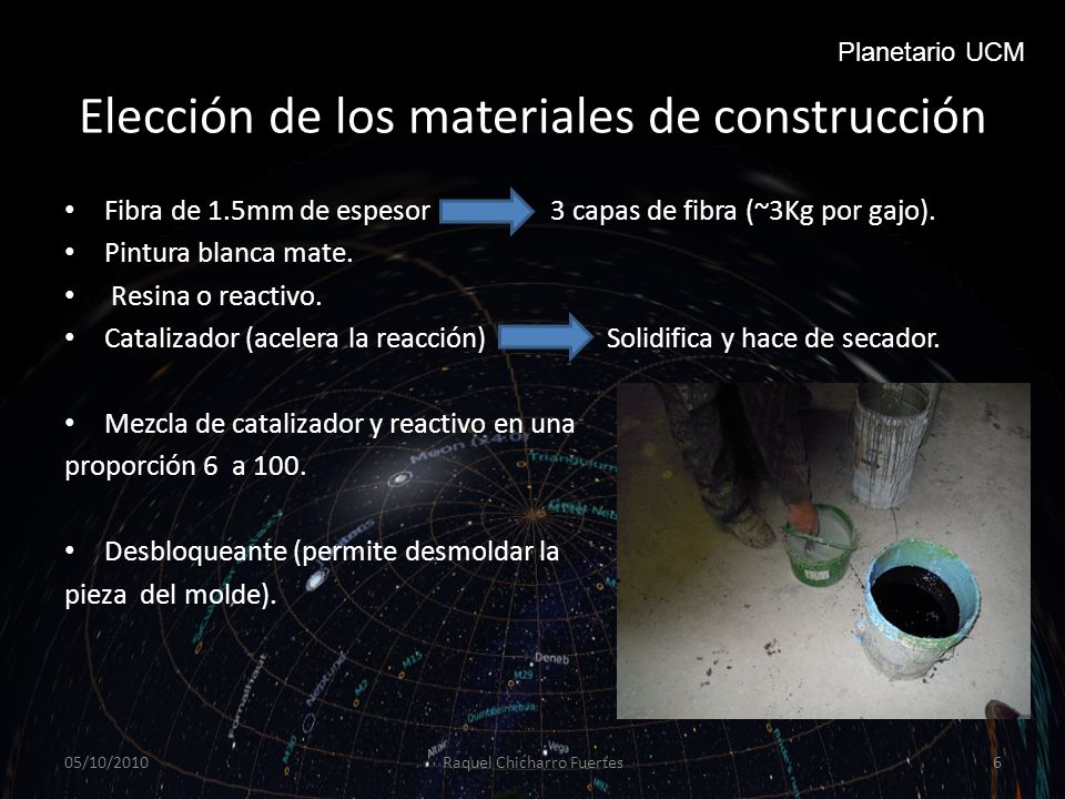 Elección de los materiales de construcción