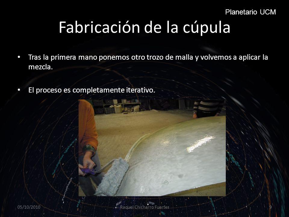 Fabricación de la cúpula