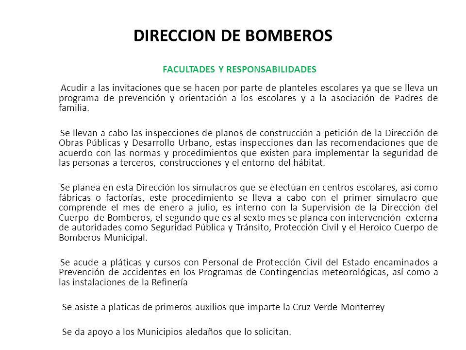 DIRECCION DE BOMBEROS