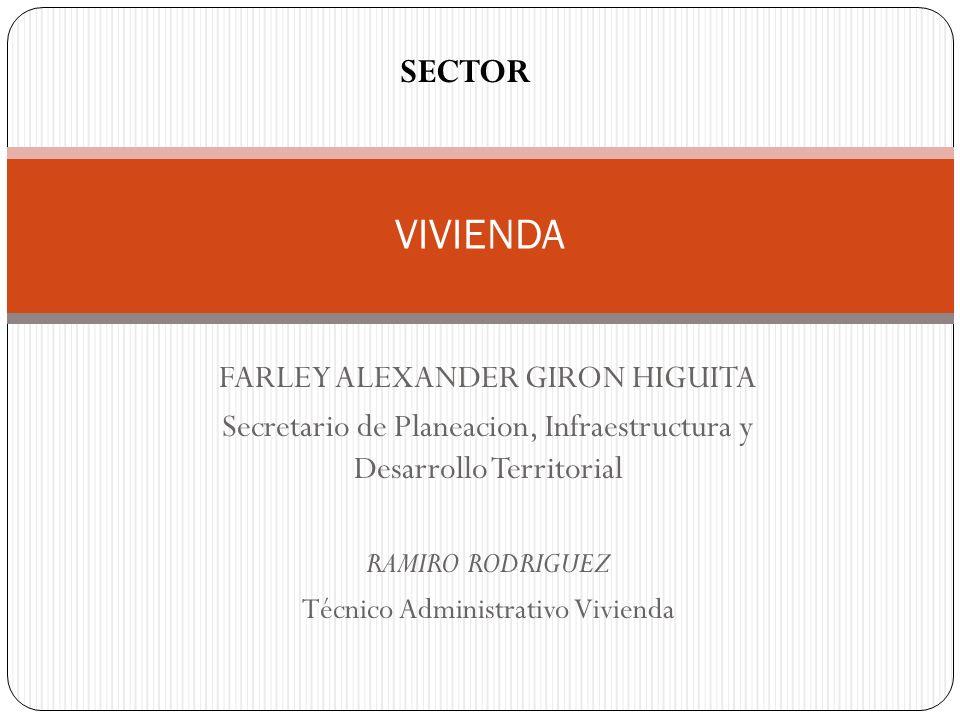 VIVIENDA SECTOR FARLEY ALEXANDER GIRON HIGUITA