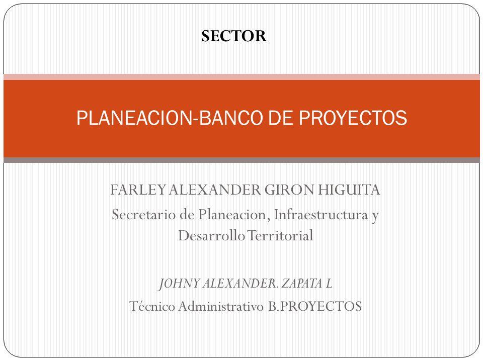 PLANEACION-BANCO DE PROYECTOS