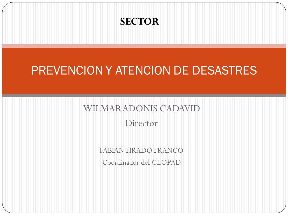 PREVENCION Y ATENCION DE DESASTRES
