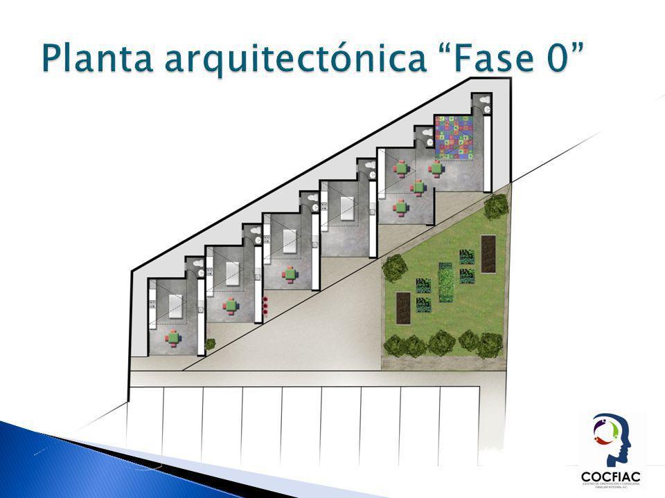 Planta arquitectónica Fase 0