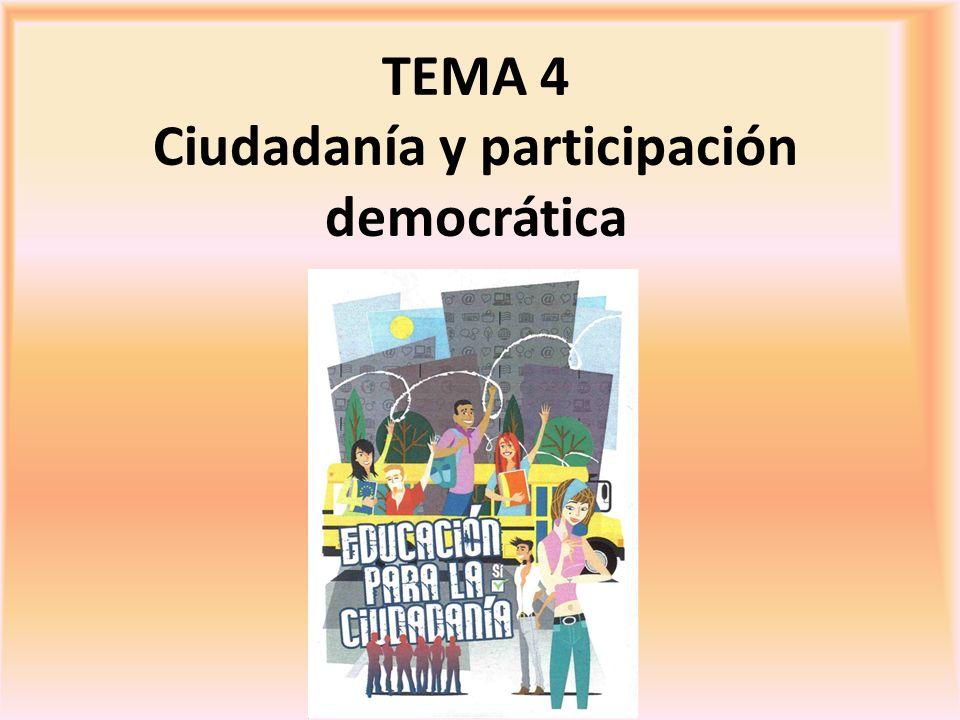 Ciudadanía y participación democrática
