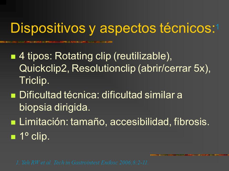 Dispositivos y aspectos técnicos:1