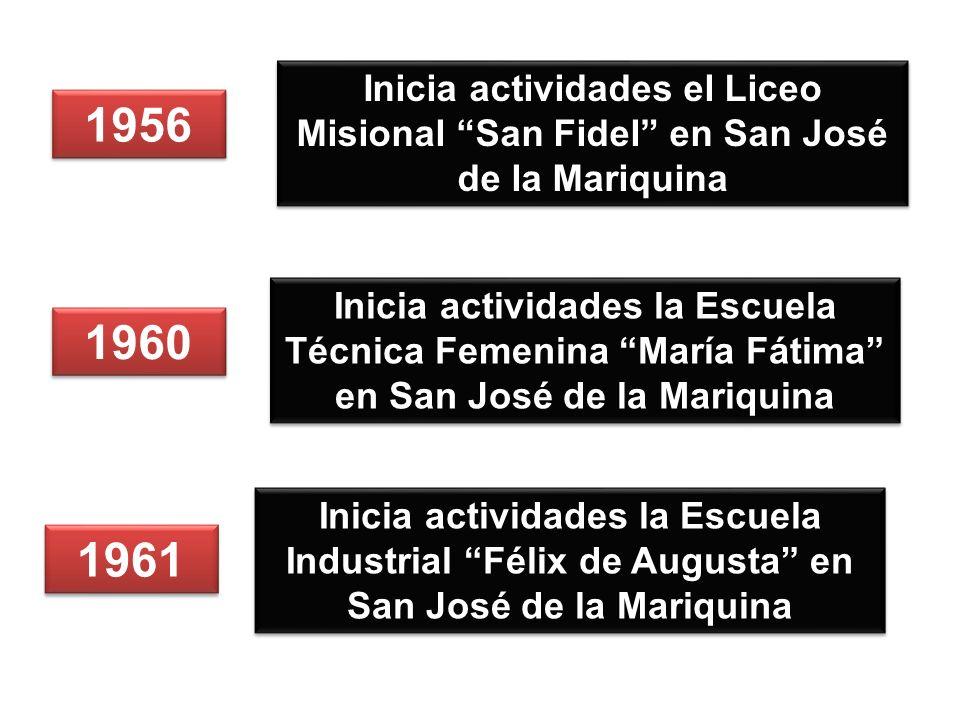 Inicia actividades el Liceo Misional San Fidel en San José de la Mariquina