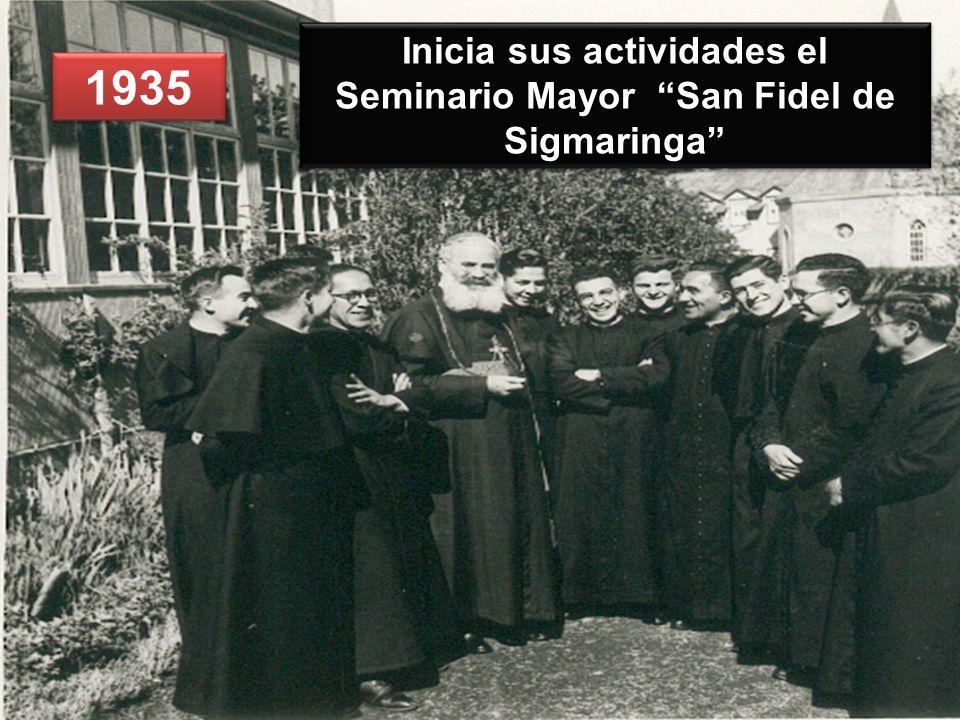 Inicia sus actividades el Seminario Mayor San Fidel de Sigmaringa