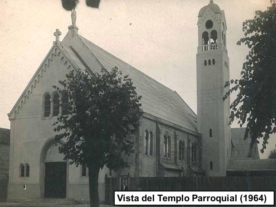 1 Vista del Templo Parroquial (1964)