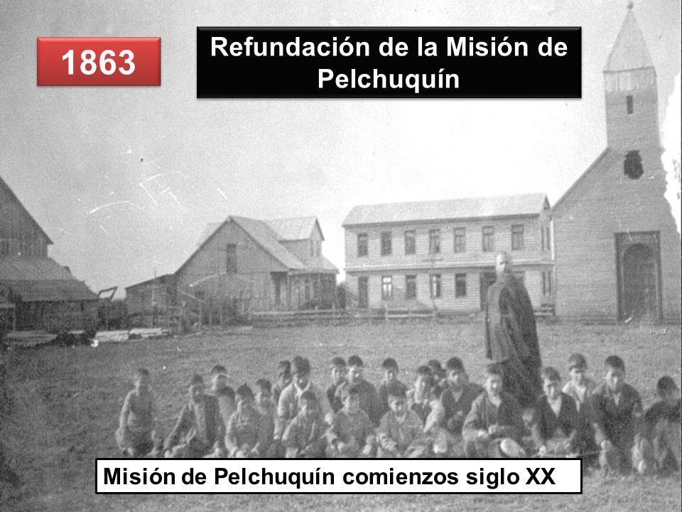 Refundación de la Misión de Pelchuquín