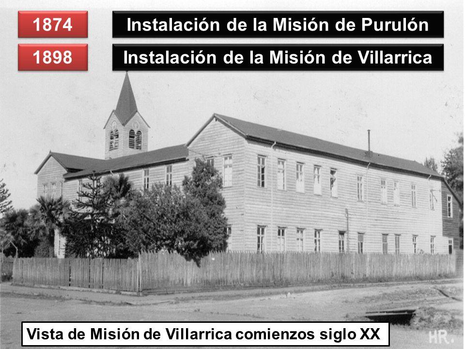 Instalación de la Misión de Purulón