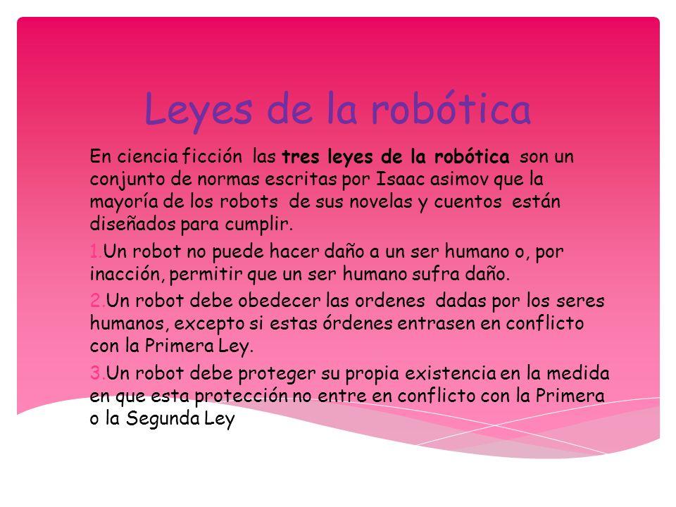 Leyes de la robótica