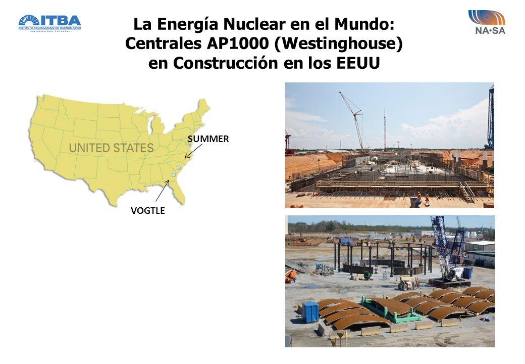 La Energía Nuclear en el Mundo: Centrales AP1000 (Westinghouse)