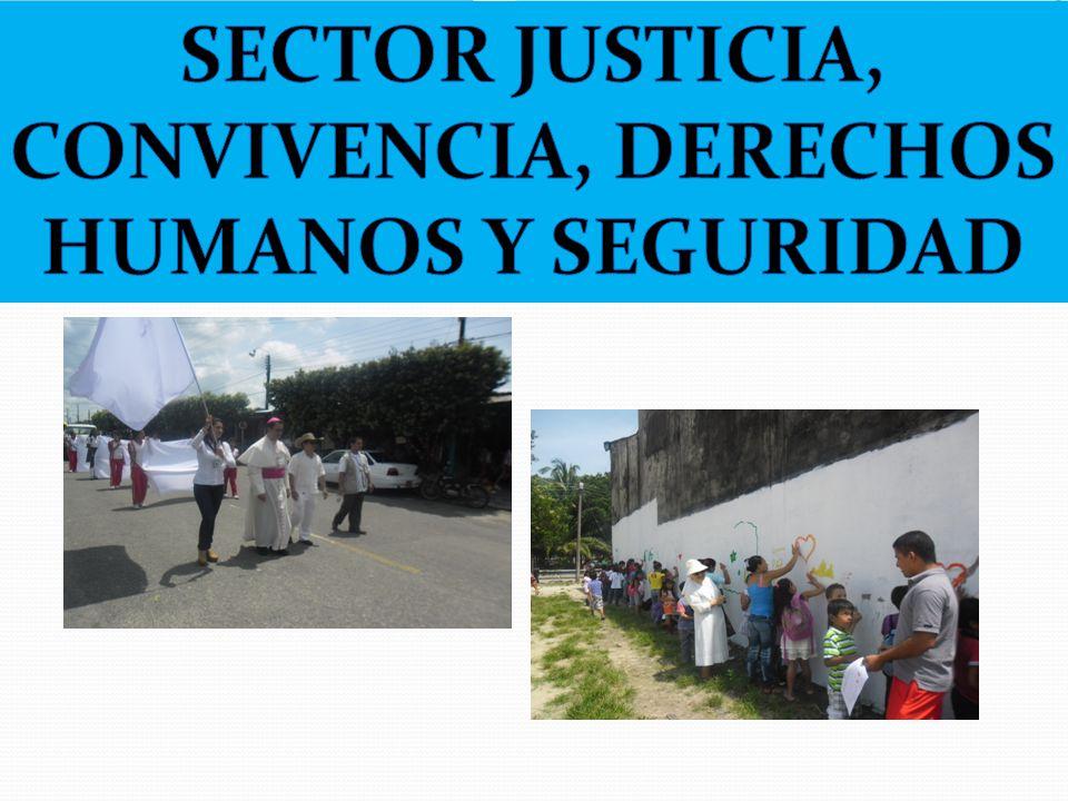 SECTOR JUSTICIA, CONVIVENCIA, DERECHOS HUMANOS Y SEGURIDAD