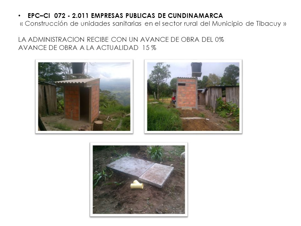 EPC–CI 072 - 2.011 EMPRESAS PUBLICAS DE CUNDINAMARCA