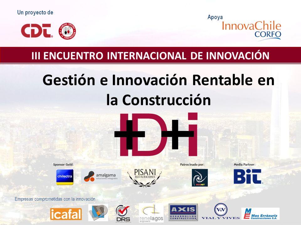 Gestión e Innovación Rentable en la Construcción