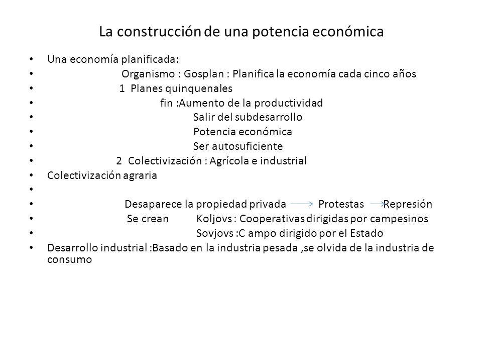 La construcción de una potencia económica