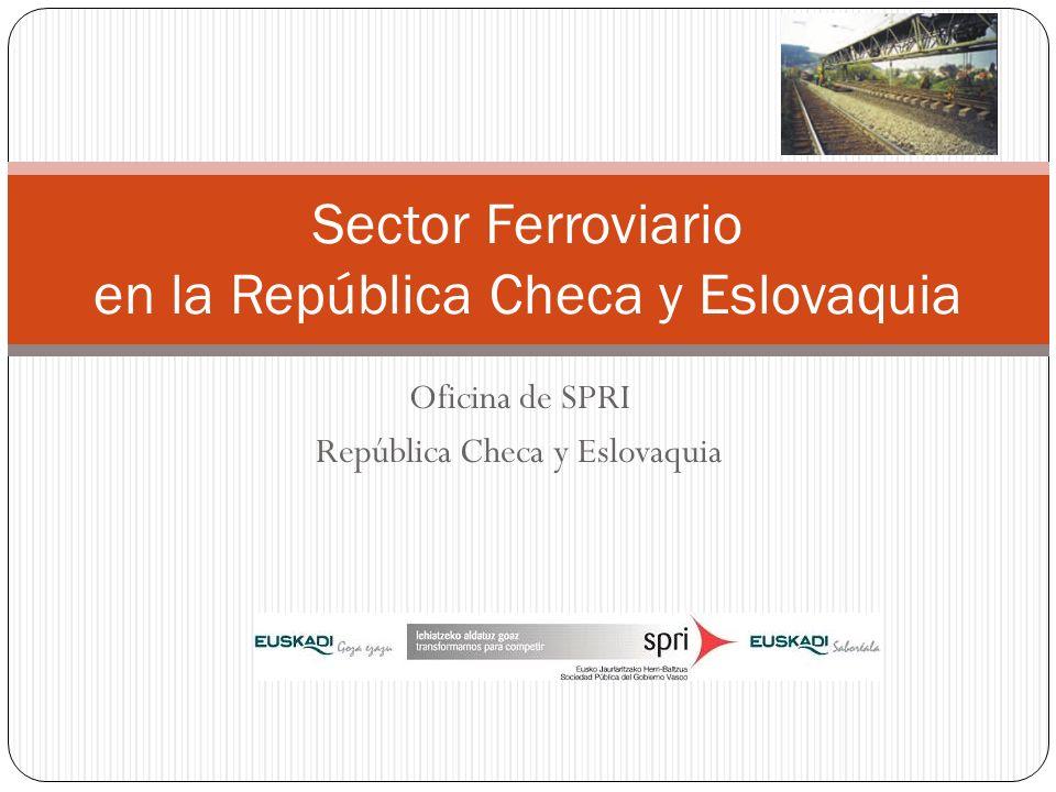 Sector Ferroviario en la República Checa y Eslovaquia