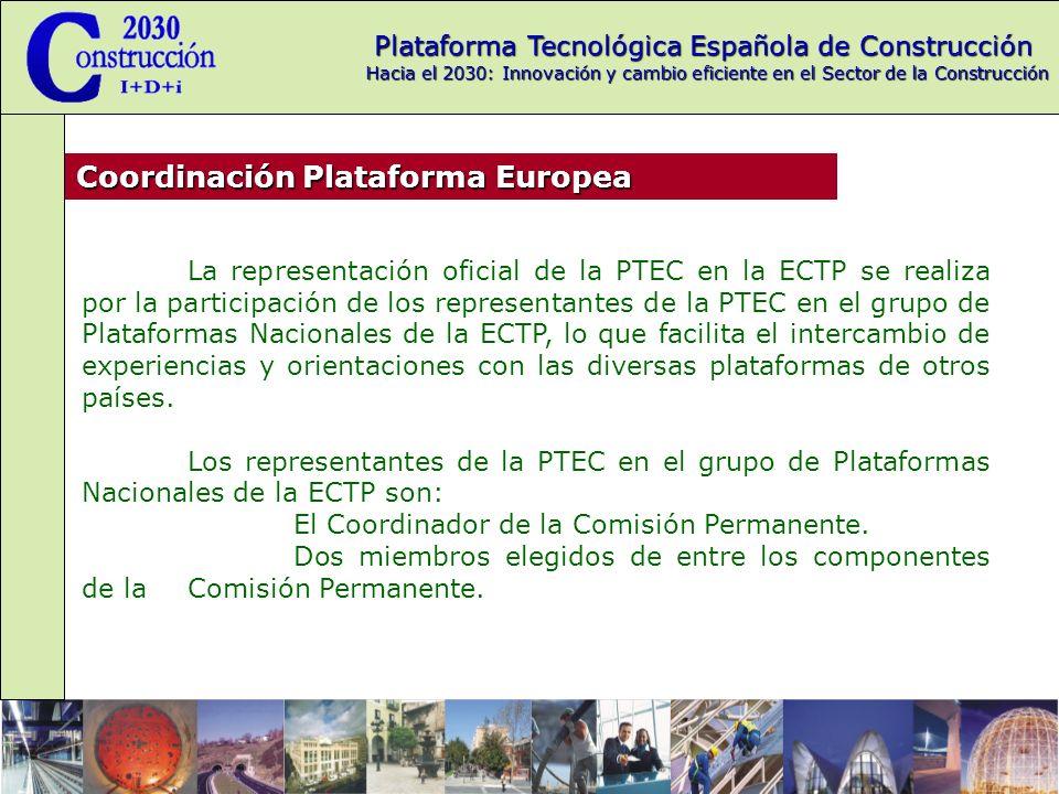 Coordinación Plataforma Europea