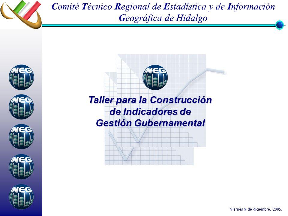 Taller para la Construcción de Indicadores de Gestión Gubernamental