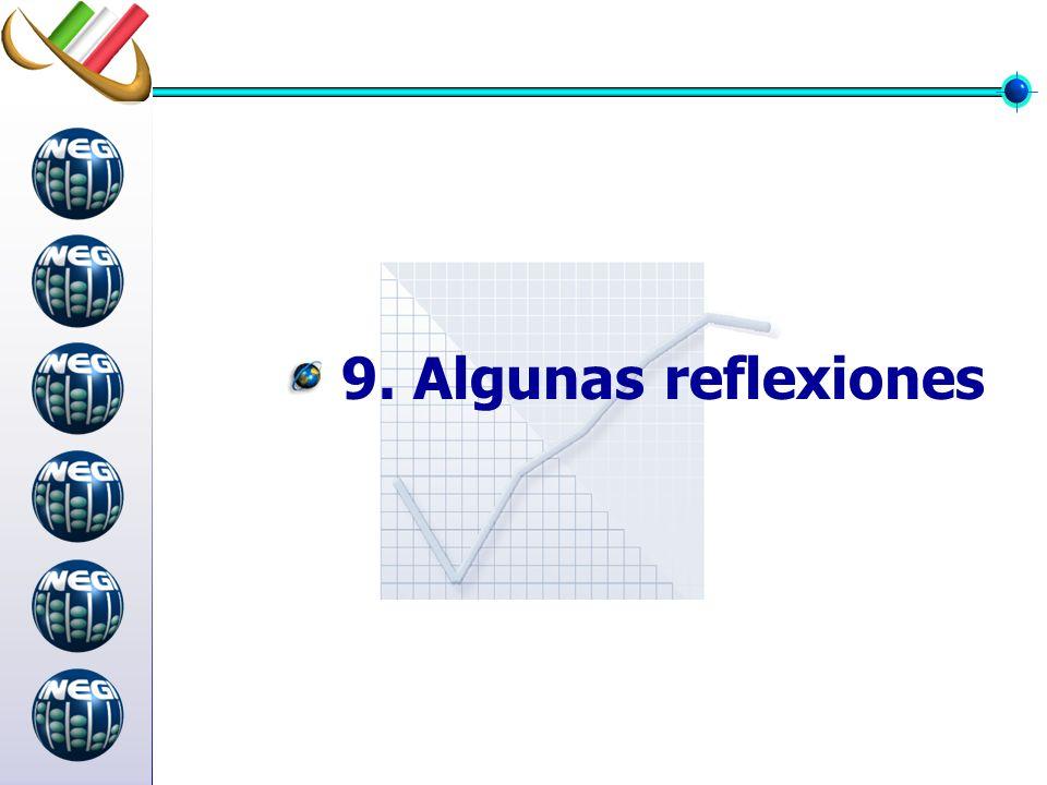 9. Algunas reflexiones