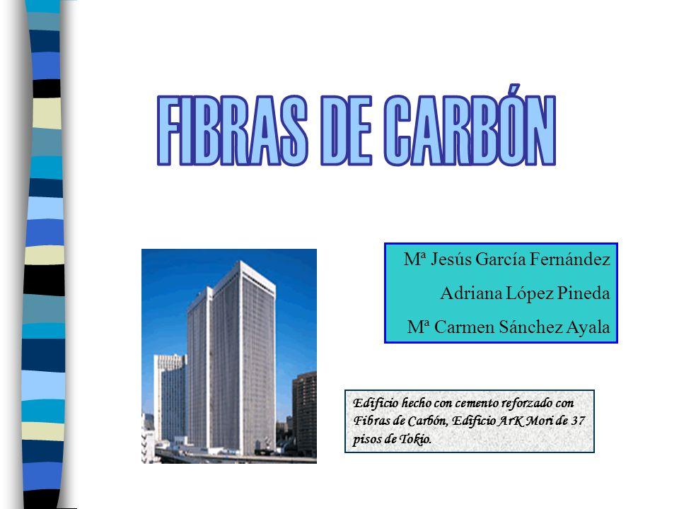 FIBRAS DE CARBÓN Mª Jesús García Fernández Adriana López Pineda